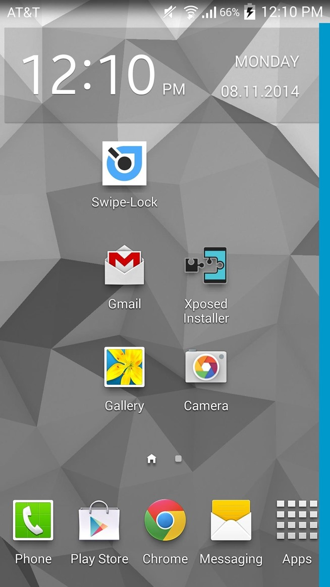 Lock Your Android Easier & Faster with Just a Swipe