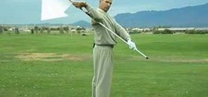 Stretch for more yardage on your golf swing
