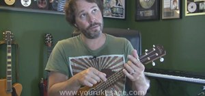 "Play ""I'm Yours"" by Jason Mraz on the ukulele"