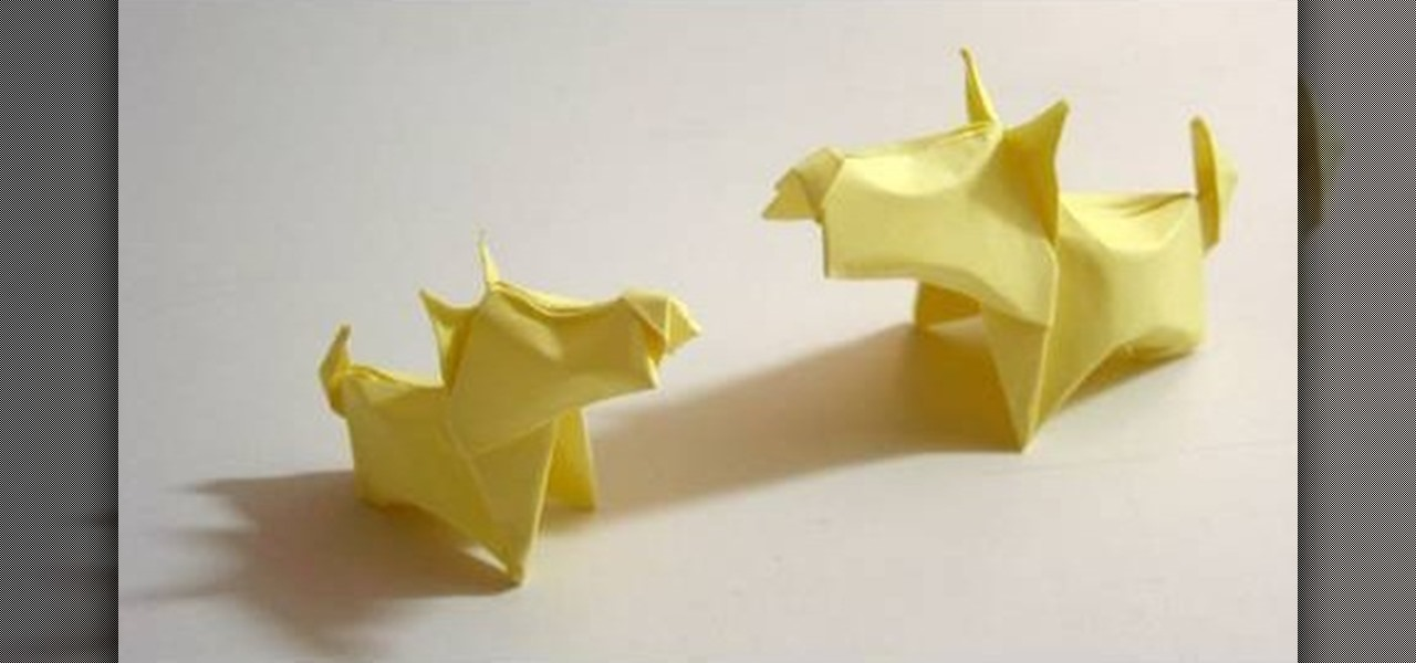 How to Make an Origami Dog (with Pictures) - wikiHow | 600x1280