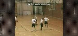 Practice four player rebounding basketball drills