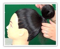 How to Make a Bow Bun for Short Hairstyles