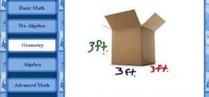Calculate the volume of a cube in basic geometry