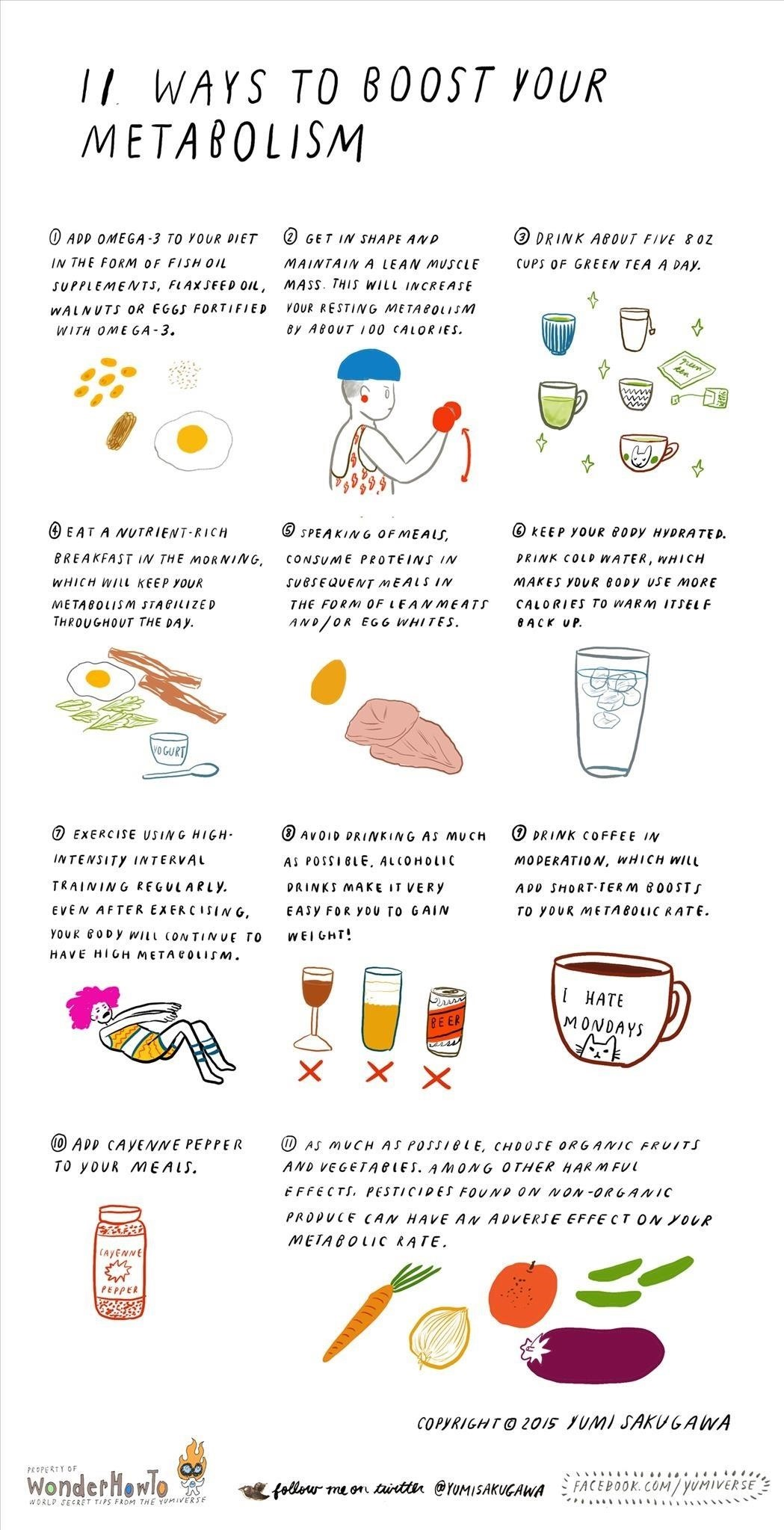 11 Ways to Boost Your Metabolism
