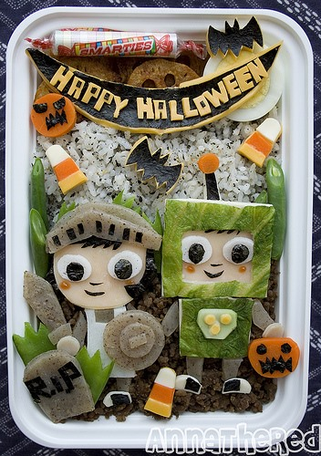 HowTo: Happy Halloween Bento!