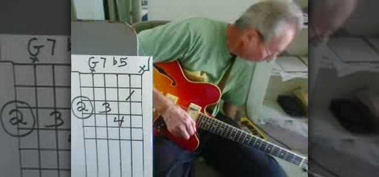 How To Play D9 G9 Cm6 Gm6 Gm6 G75 G7b5 Jazz Chords