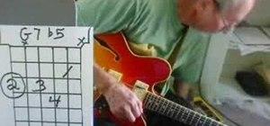 Play D9, G9, CM6, GM6, Gm6, G7#5 & G7b5 jazz chords