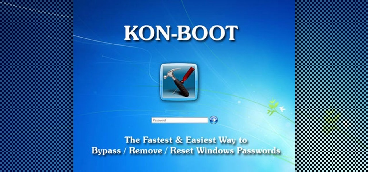 Skip your Windows password altogether with Kon-Boot