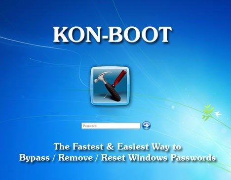 Kon Boot for Bypassing Windows Logon Screen