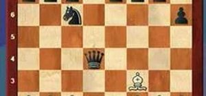 Use the removing the guard tactic in a game of chess