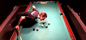 "Play the ""On the Spot"" billiard ball game"
