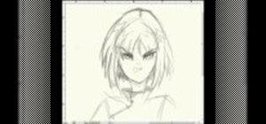 Draw manga facial expressions