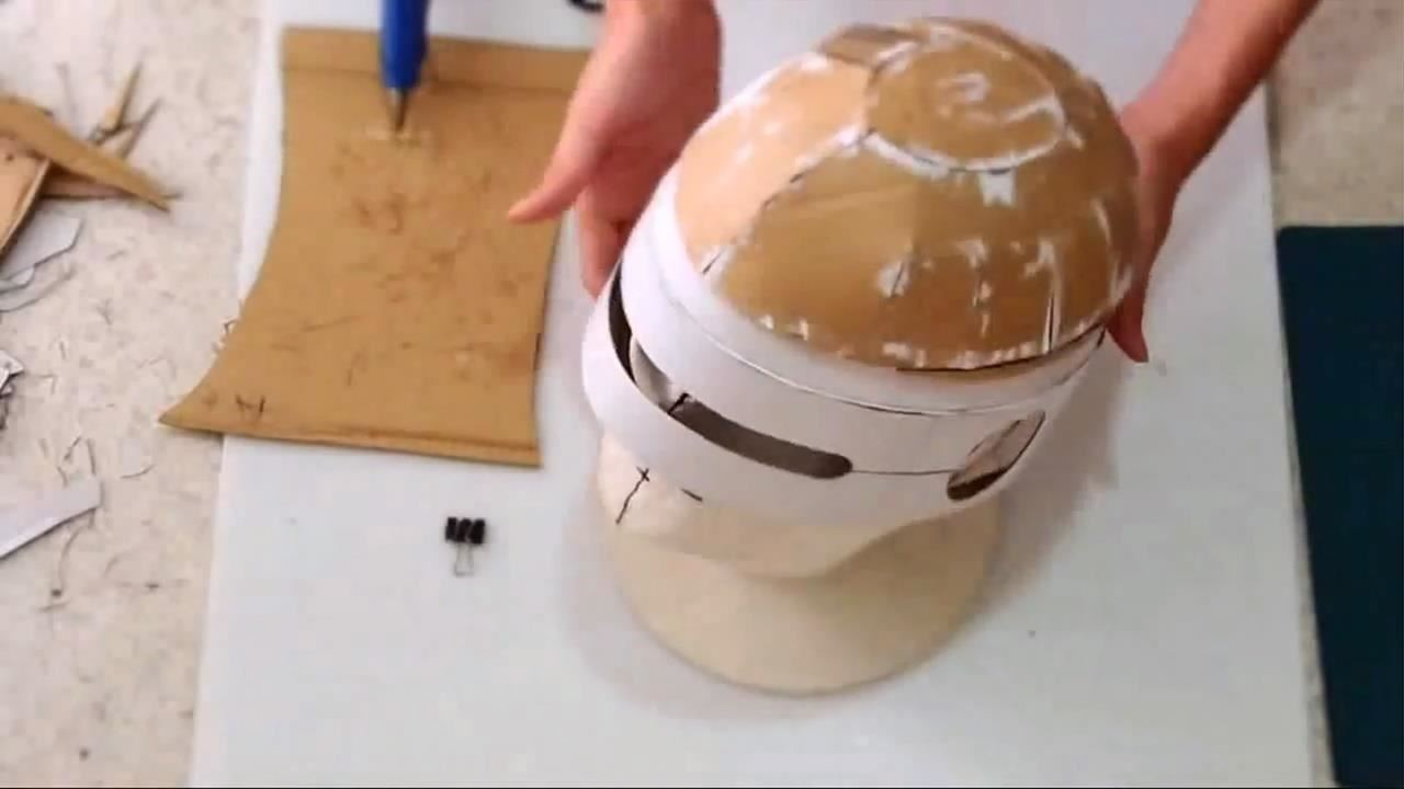 How to Build the Ultimate DIY RoboCop Helmet with Cardboard
