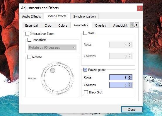 How to Unlock VLC's Hidden Jigsaw Puzzle Mode