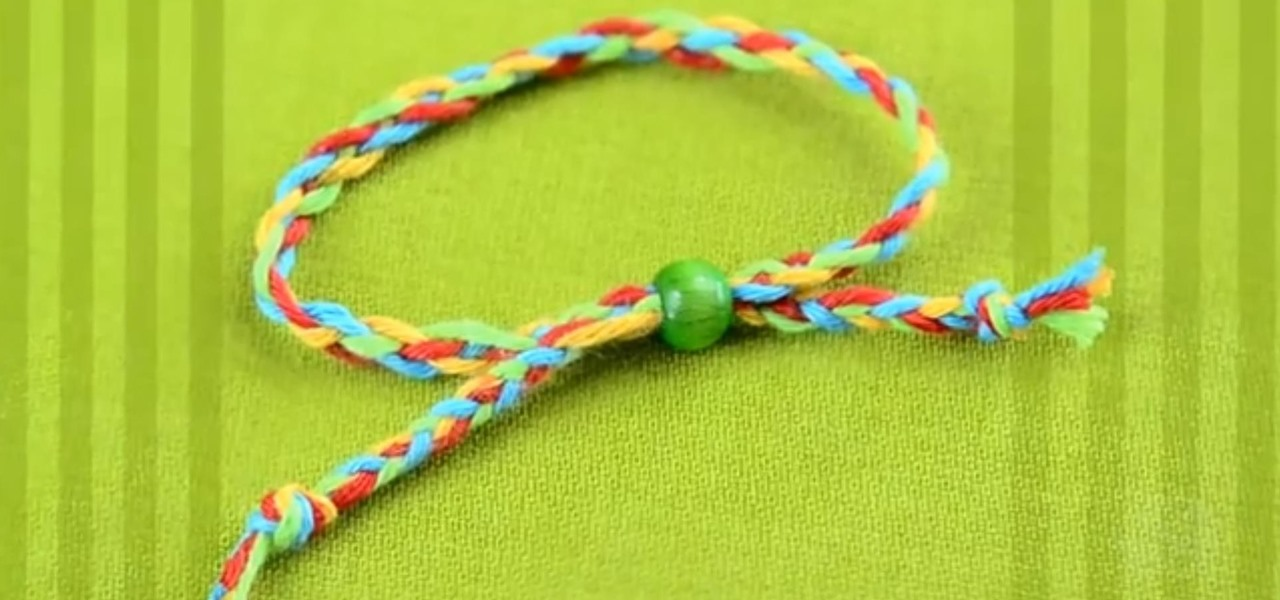 Miraculous How To Braid A Super Easy Friendship Bracelet With Four Strands Short Hairstyles Gunalazisus