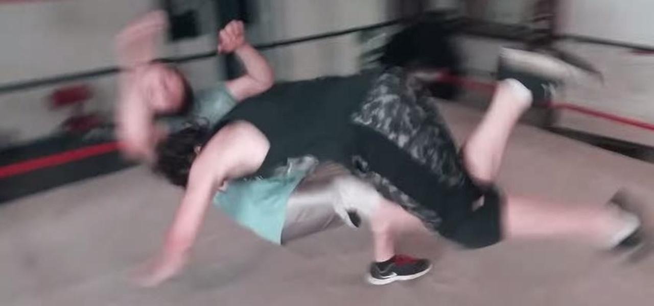 Do the Spear Finishing Move of Bill Goldberg & Roman Reigns