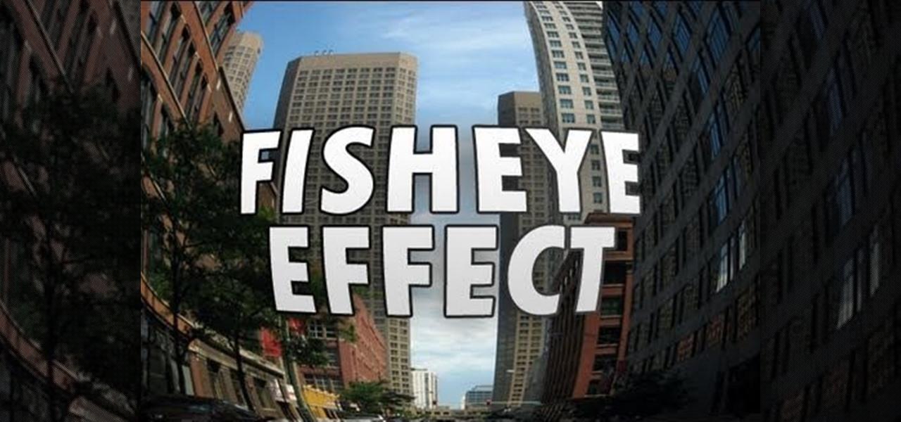 How to create a fisheye effect in adobe photoshop cs5 for Fish eye effect