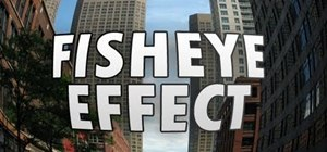 Create a fisheye effect in Adobe Photoshop CS5