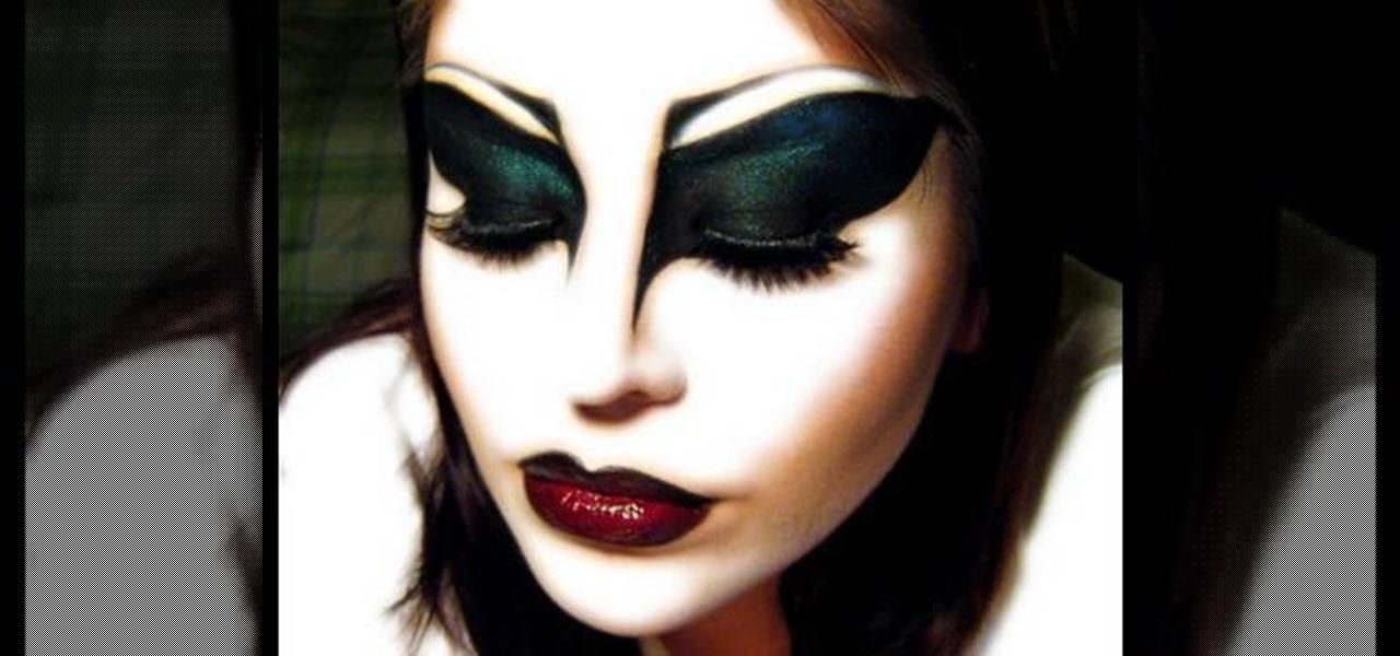 How to Apply Nina Flowers inspired drag makeup « Makeup