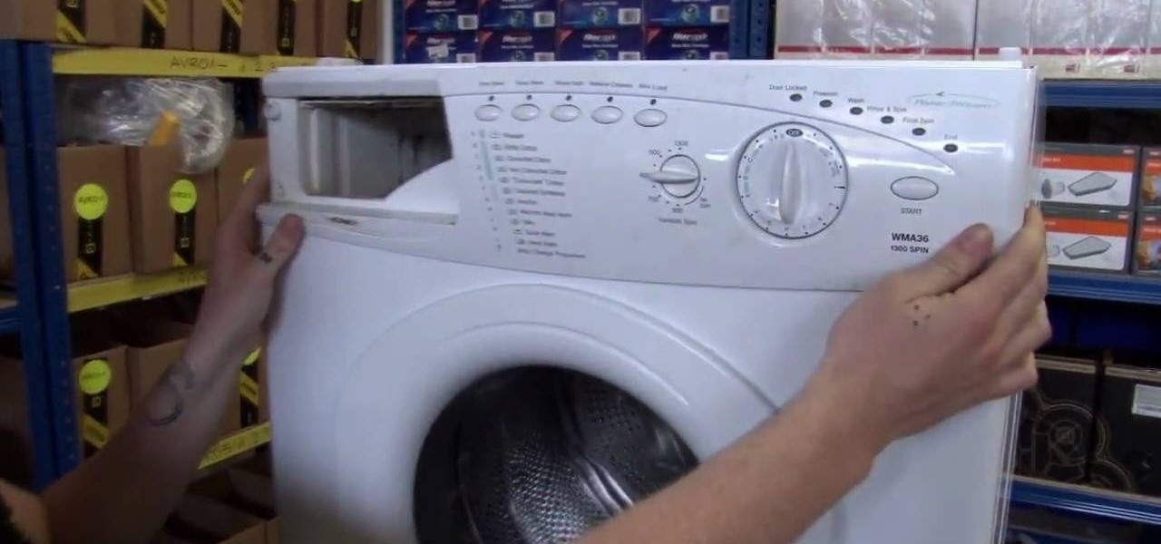 How to replace the controls to a hotpoint washing machine for How much is a washing machine motor
