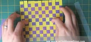 Weave paper for origami and other paper crafts