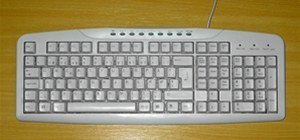 Computer Keyboard Layout Picture.