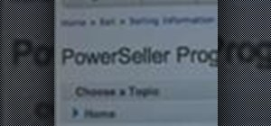 Become a PowerSeller on eBay