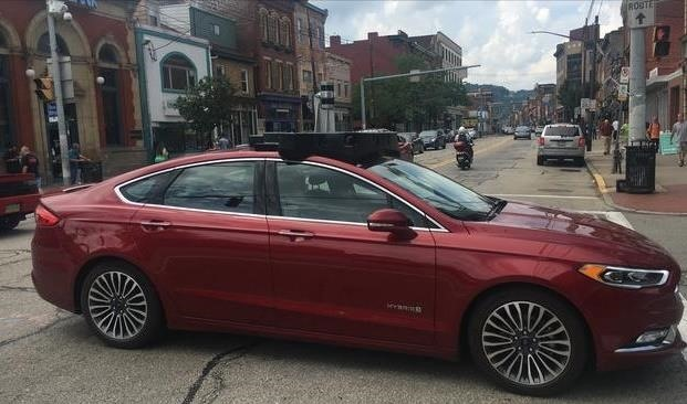 Argo AI's First Driverless Car Is Spied in Pittsburgh