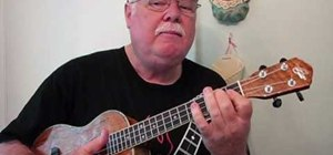 "Play ""From Me to You"" by the Beatles on the ukulele"