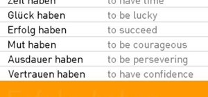 "Conjugate the verb ""haben"" in German in present tense"
