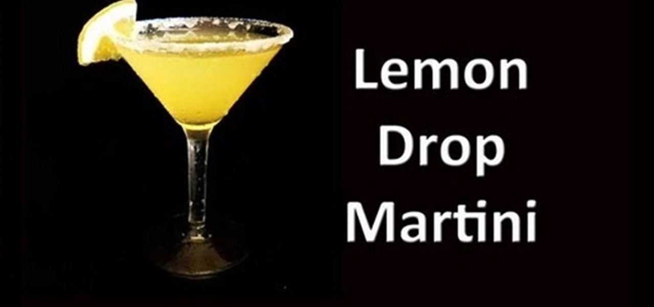 How to Make a Lemon Drop Martini « Vodka