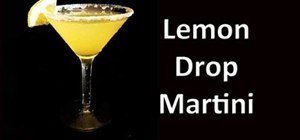 Make a Lemon Drop Martini