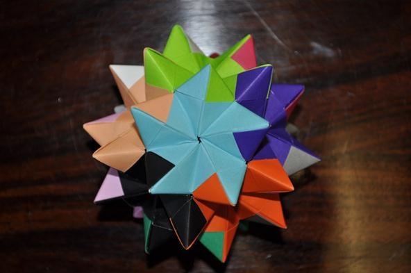 New Colour Scheme Pentakis Dodecahedron