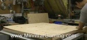 Make a gaming board for Warhammmer
