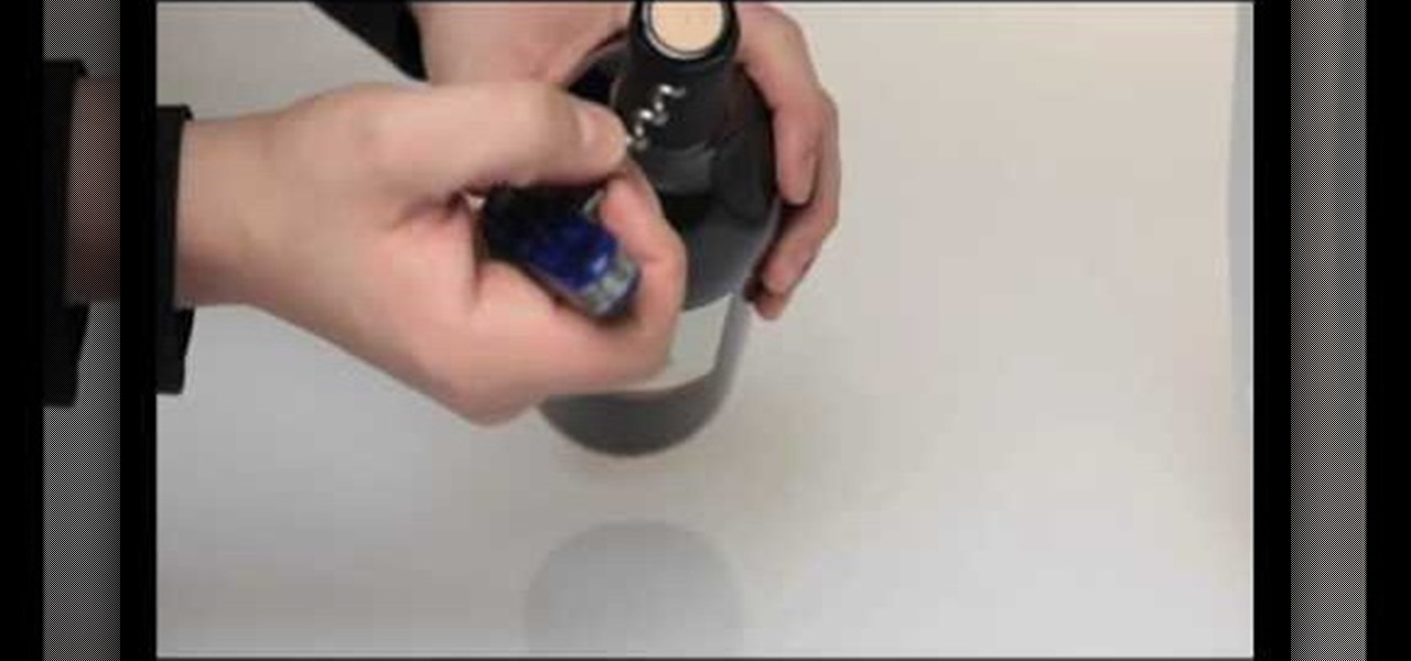 How To Use A Swiss Army Knife Cork Screw To Open Wine