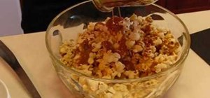 Make caramel coated popcorn at home with Betty