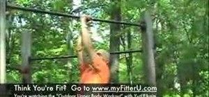 Do an outdoor strength training workout