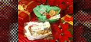 Make a gingerbread men kits as gifts