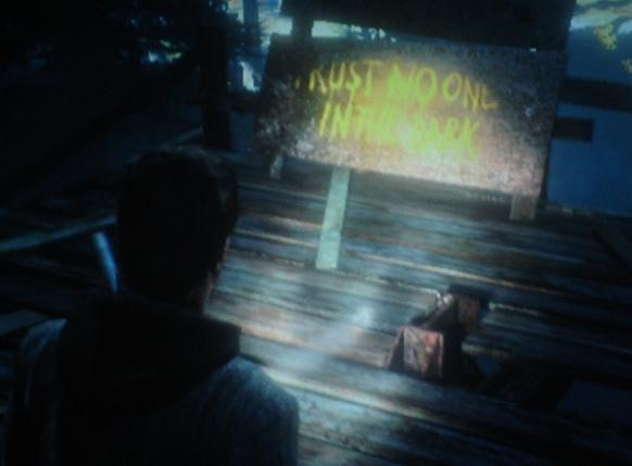 Alan Wake: Captain Obvious