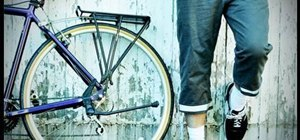 Make a manly pair of bike pants for urban cycling