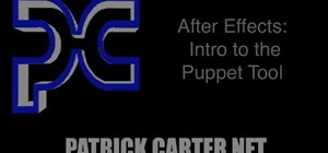Create animations with the Puppet tool in Adobe After Effects CS5