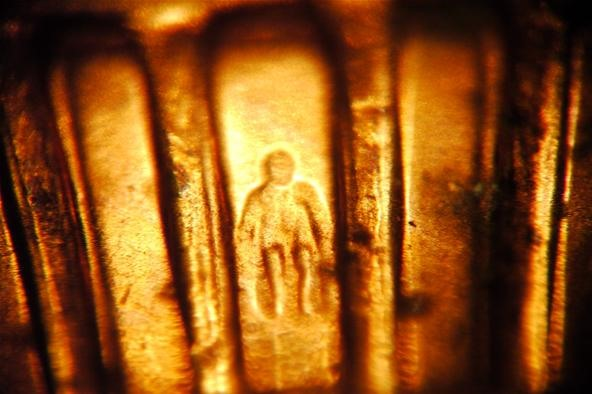 Extreme Close-up Photo Challenge: Abe Lincoln on Back of Penny