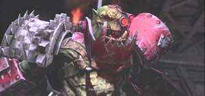 Defeat Grimskull and earn 'But I Am Finished With You' in WH40k: Space Marine