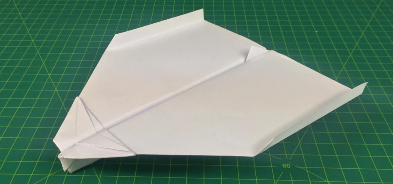 Make a Paper Plane That Flies Far | Super Glider