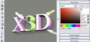 Create 3D headings and logos in Xara 3D