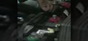 Change your dead car battery properly