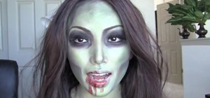 Create a Simple Sexy Zombie Makeup Look for Halloween