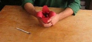 Origami a lilly