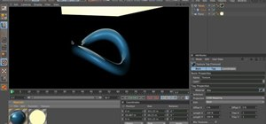Light a subject with a luminance channel in Cinema 4D