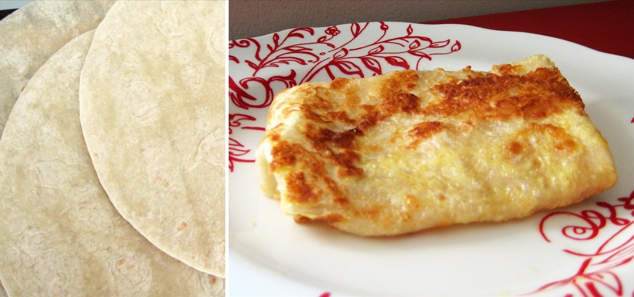 Turn a Tortilla into a French Crêpe